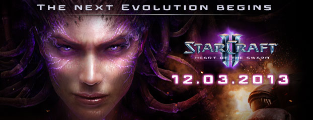 Heart of the Swarm Arrives March 12, 2013 — Presales NOW LIVE
