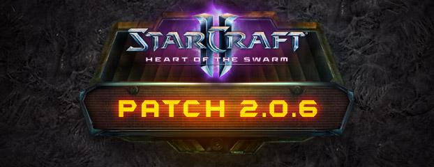 StarCraft II: Heart of the Swarm - обновление 2.0.6