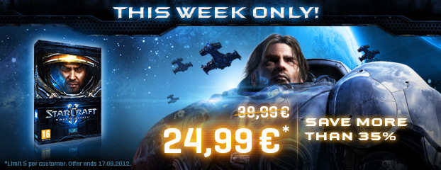 37% off StarCraft II – This Week Only
