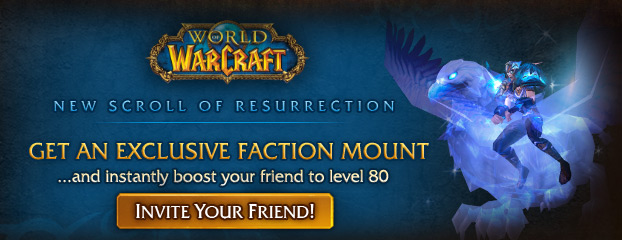 Scroll of Resurrection Update for Mists of Pandaria