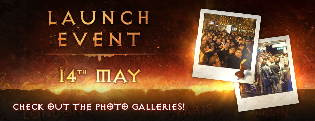 Check out the Photo Gallery of the Diablo III Official Launch Events!