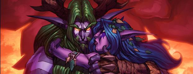 New Lore: Tyrande and Malfurion Story Available!