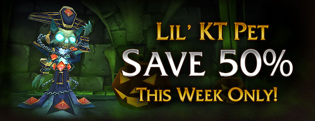 50% Off Lil' K.T. Pet – This Week Only