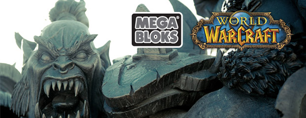 Vídeo sobre el desarrollo de Mega Bloks® World of Warcraft™