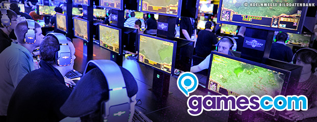 La gamescom 2012 bat son plein !