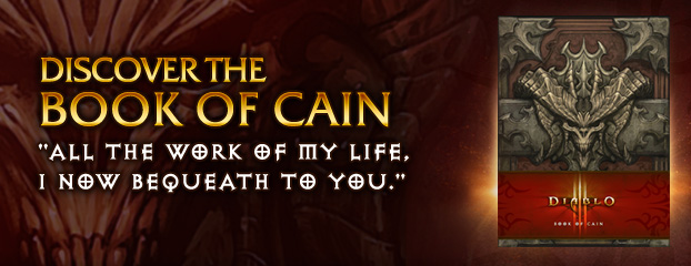 Discover the Book of Cain — Available Now, Fully Localized for Europe
