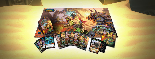 Ya a la venta el mazo Tomb of the Forgotten del juego de cartas de World of Warcraft