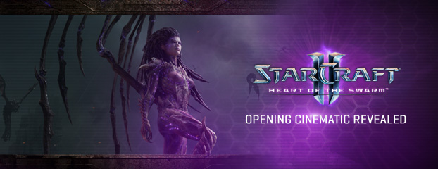Heart of the Swarm Opening Cinematic Revealed