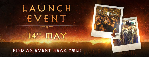 Diablo III Launch Events Across Europe