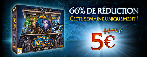 Profitez de 66% de réduction sur le Battle Chest !