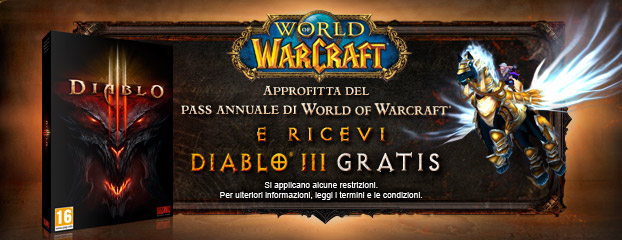 Promemoria: Ultima possibilità per il Pass Annuale di World of Warcraft