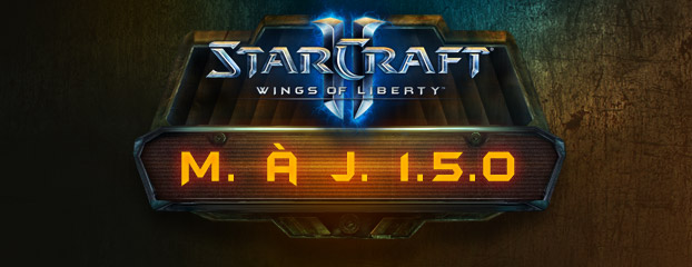 StarCraft II: Wings of Liberty - Mise à jour 1.5.0