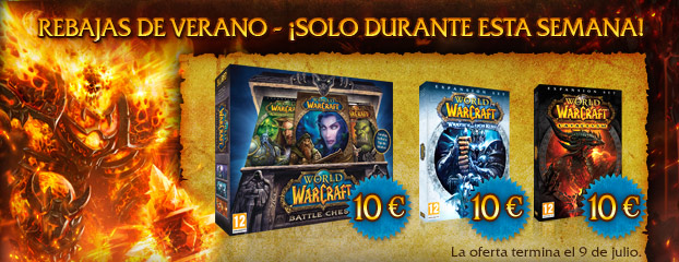 Rebajas de verano de World of Warcraft a 10 €: solo esta semana
