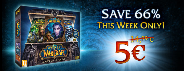 WoW Battle Chest 66% Off – This Week Only