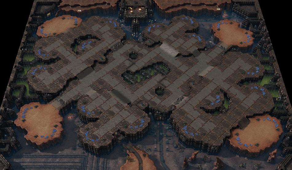 Nuevos mapas para el 1v1 y 3v3