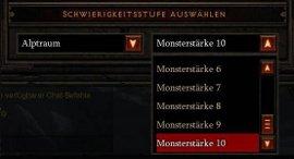 Diablo 3 Patch 1.0.5: Monsterstärke   Wer wagt, gewinnt!